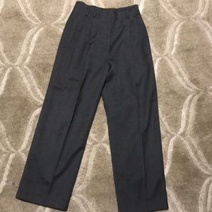 Rafaella grey wool trouser pants dress pants